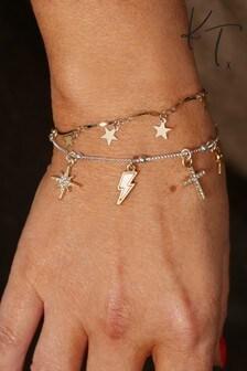 Kate Thornton Stackable Charm Bracelet Set
