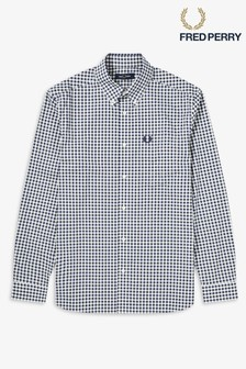 Chemise Fred Perry motif vichy