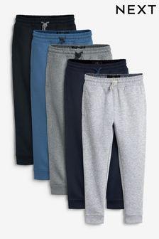 Набор из 5 спортивных брюк (3-16 лет)