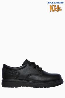 Черные низкие школьные туфли на шнуровке Skechers® Gravlen