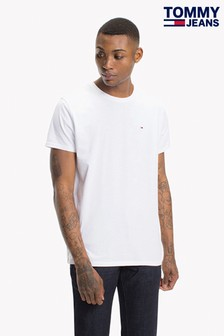 Tommy Jeans Original White Jersey T-Shirt