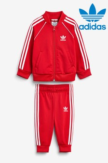 adidas Originals Infant Red Superstar Tracksuit