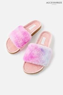 נעלי בית פרוותיות של Accessorize בוורוד