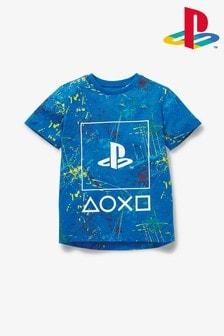 Tričko PlayStation™ s fŕkanou potlačou (3 – 16 rok.)