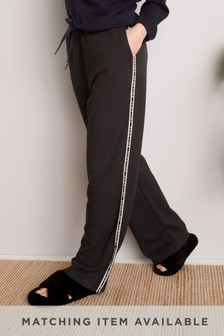 Sporty Lounge Wide Leg Trousers