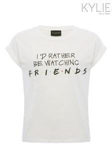 Kylie White Watching Friends T-Shirt