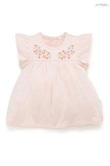 Purebaby刺繡連衣裙