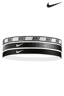 Nike Black Headbands Three Pack