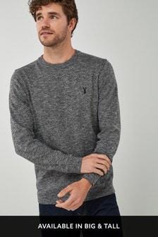 Marl Crew Neck Sweater