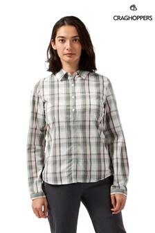 חולצה עם שרוול ארוךשל Craghoppers דגם Kiwi בירוק