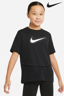 Nike Performance Trophy T-shirt in zwart