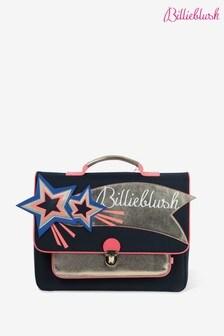 Billieblush Navy Satchel School Bag