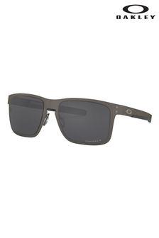 Oakley® Holbrook Sonnenbrille mit Metallfassung, Grau