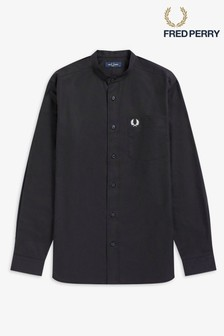 Chemise à col grand-père Fred Perry