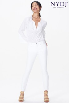 NYDJ Optic White Alina Ankle Jean