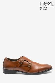 Double Strap Monk Shoes