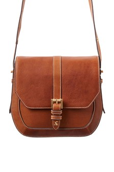 Joules Tan Saddle Bag