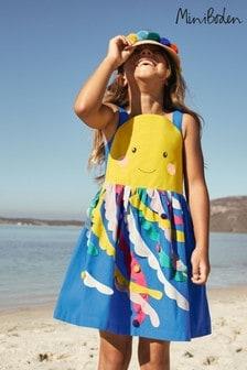 Boden Blue Fun Embellished Dress