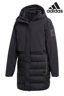 adidas Black My Shelter Padded Coat