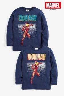 Top sdlhými rukávmi Iron Man (3 – 14 rok.)