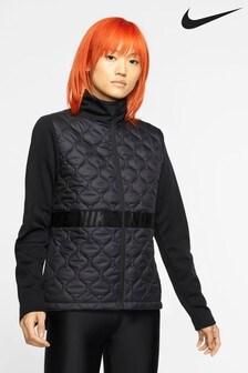 Nike Black Aero Layer Running Jacket