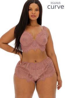 Figleaves Curve Mocha Adore French Knickers