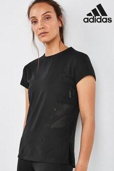 adidas Black Engineered T-Shirt