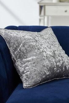 Подушка из мятого бархата