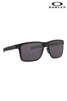 Oakley® Holbrook Sonnenbrille mit Metall-Fassung, schwarz