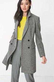 Kabát s fazónkou