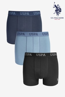 U.S. Polo Assn. USPA Boxers Three Pack