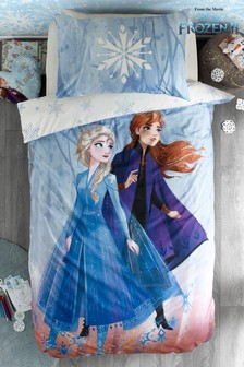 Disney™ Frozen 2 Elsa & Anna Reversible Duvet Cover and Pillowcase Set