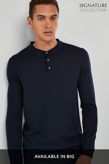 Signature Knitted Polo