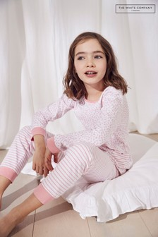The White Company Ditsy Floral Print Pyjamas