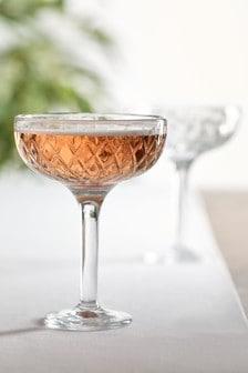 Súprava 2 širokých pohárov na šampanskéAverie