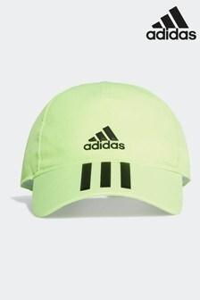 Зеленая детская бейсболка adidas