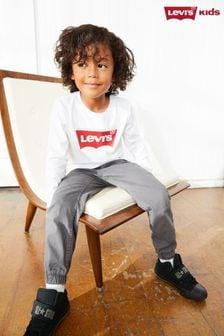 Детская футболка с длиннымирукавамии принтом логотипа Levi's® Kids