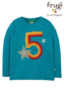 Koszula z bawełny organicznej Frugi z okazji 5 urodzin