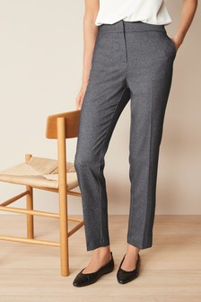Утягивающие зауженные брюки