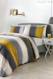 Fusion Betley Duvet Cover and Pillowcase Set