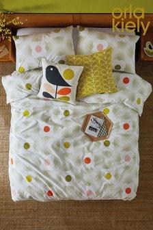 Orla Kiely Striped Petal Cotton Duvet Cover