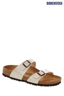 Birkenstock® White Sydney Sandals