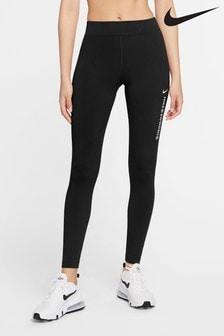 Leggings à virgule taille haute Nike noir