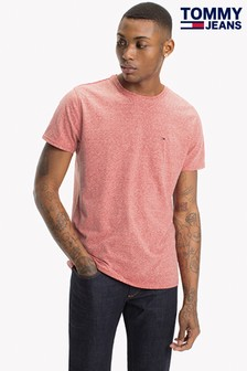Tommy Jeans Original Red Triblend T-Shirt