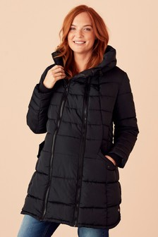 Дутое пальто для беременных