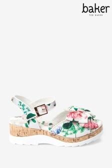 Baker by Ted Baker Floral Platform Shoes