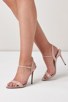 Sandale cu toc Barely There