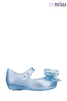 Mini Melissa Blue Disney™ Frozen Glitter Shoes
