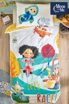 Moon and Me Duvet Cover and Pillowcase Set
