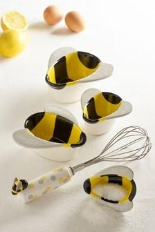 Set of 2 Bees Baking Set